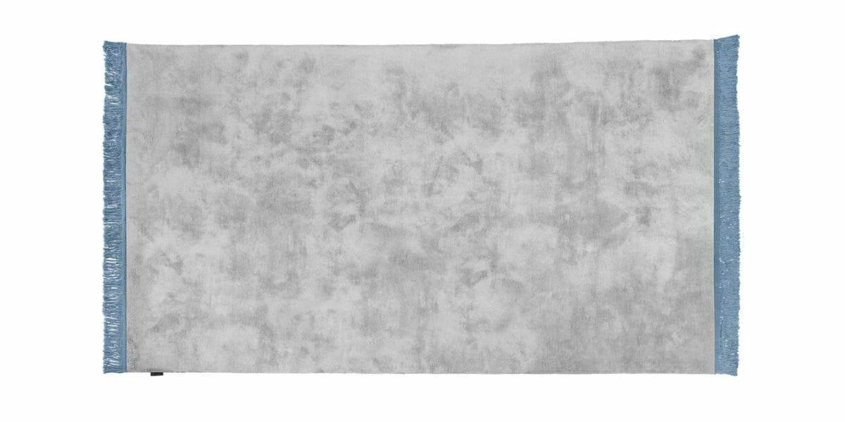 Bretz Teppich Viscose Solid P 153VS in light grey