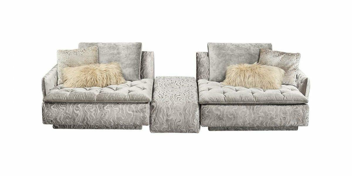 BRETZ Filousof Sofa mit Zwischenhocker | Top Angebote an Bretz Sofas