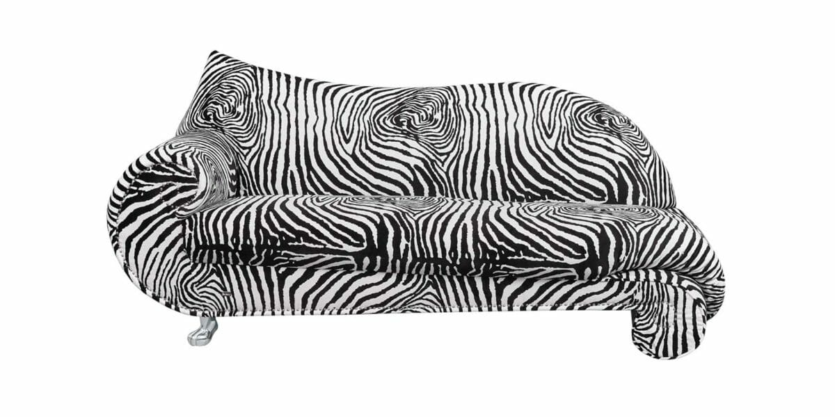 Bretz Récamiére Gaudi X210 in zebra Bezug