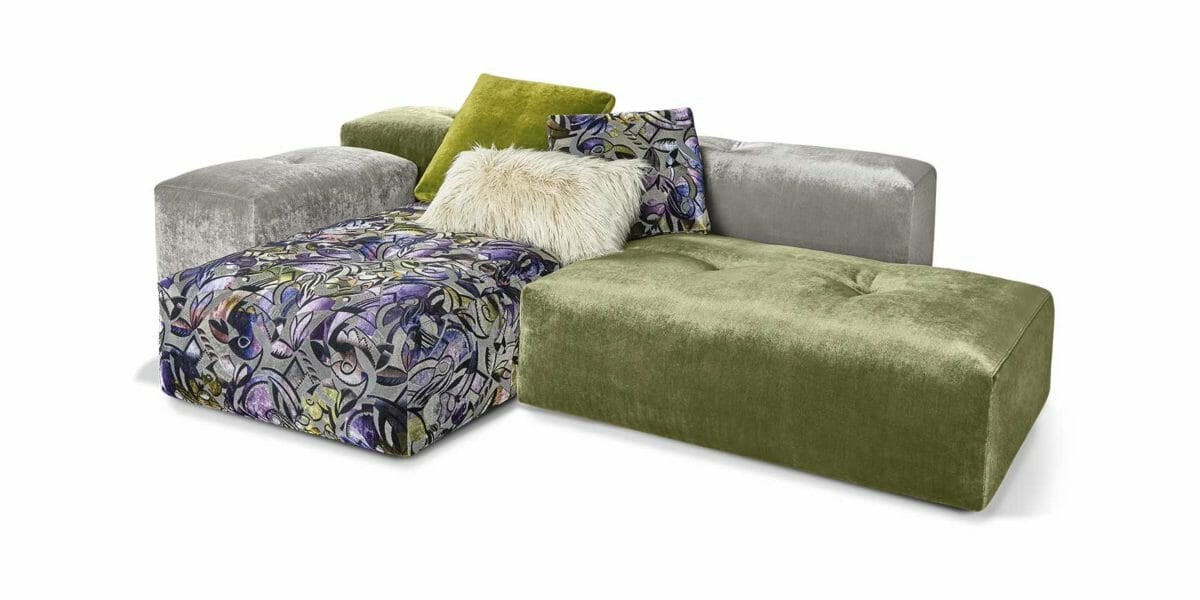 Bretz Drop City Sofa (Set 3.6)