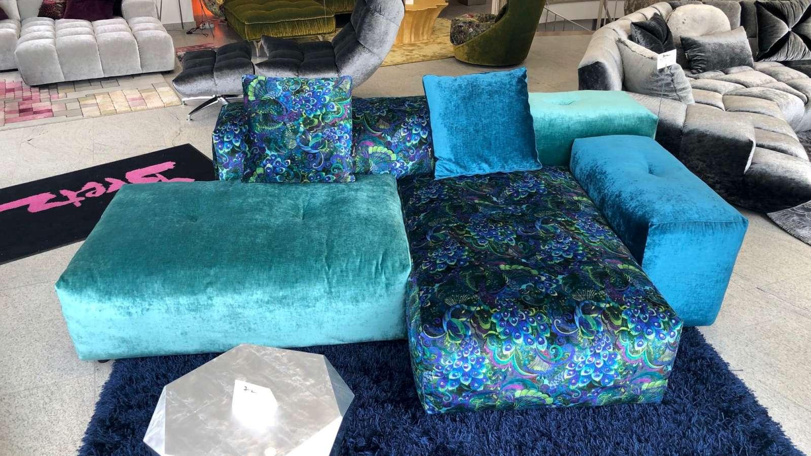 bretz sofa dropcity als ausstellungsstuck