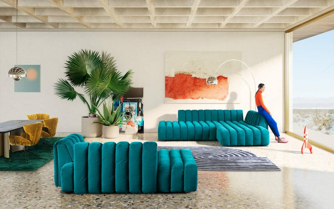 Bretz Moonraft Sofa 2020