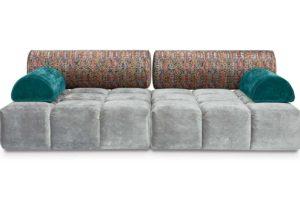 Bretz Sofa ED FL109 in Feather grey/mikado Bezug