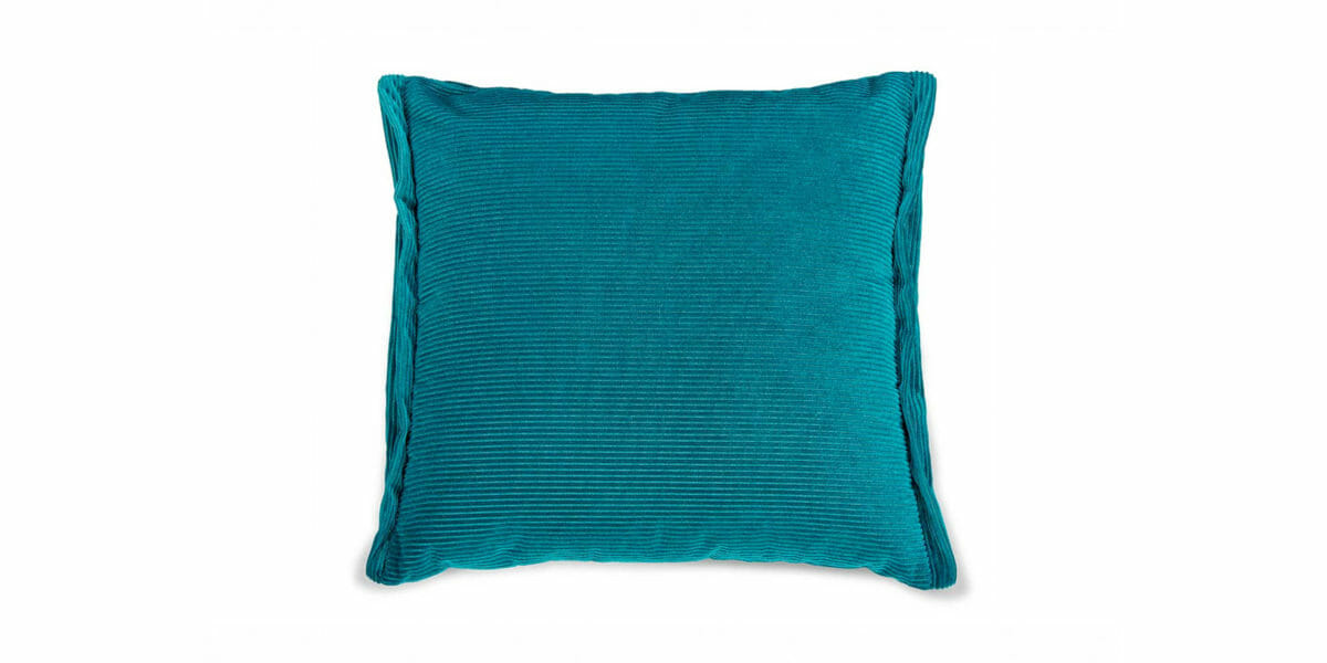 Bretz Plaid Kissen D 108S in turquoise Bezug