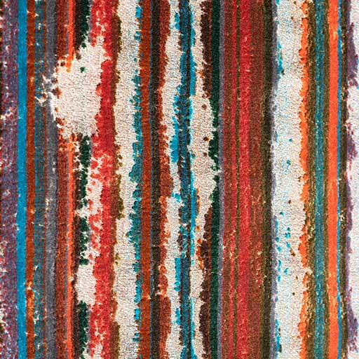 Bretz Stoff 661134 (ENG/türkis-rot-violett)