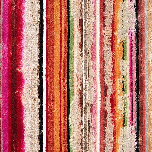 Bretz Stoff 661165 (ENG/orange-grün-pink)
