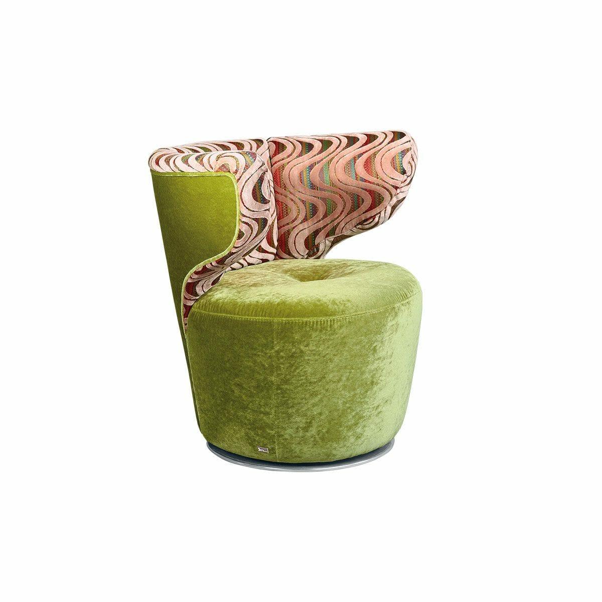 Bretz Croissant Sessel (drehbar) A113