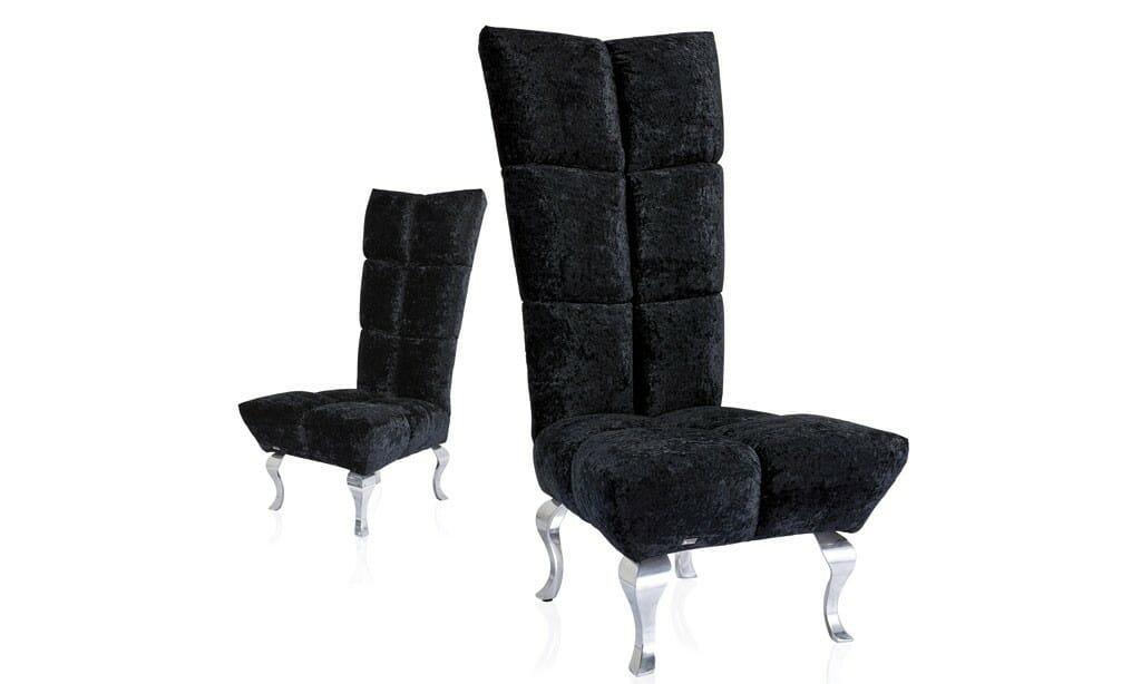 Bretz Marilyn A140 Stuhlsessel in schwarz
