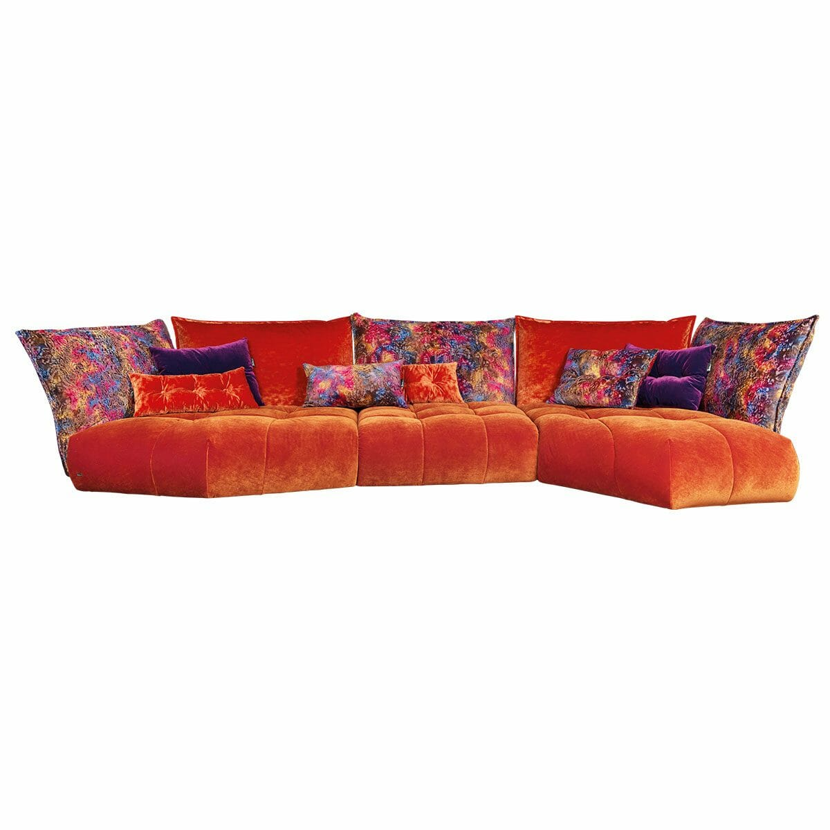 Bretz Sofa MATILDA Uli-Rli-Xre in kupfer - indian summer