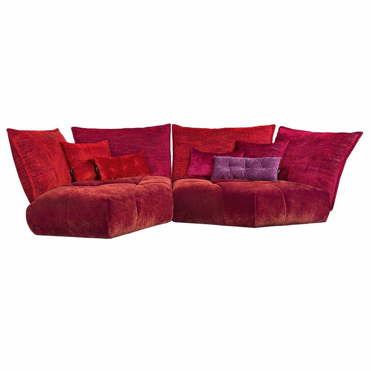 Bretz Matilda Sofa H116li in Berry Mix