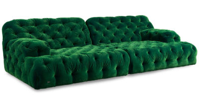 Bretz Sofa COCOA ISLAND G119 in rainforest
