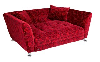 Bretz Schlafsofa Monster Q 183 in rosenrot
