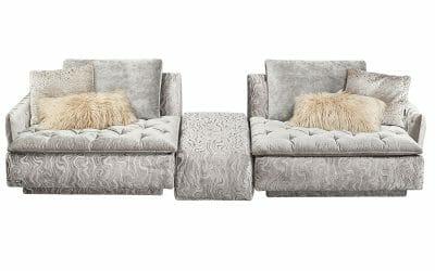 Filosouf Sofa und Zwischenhocker