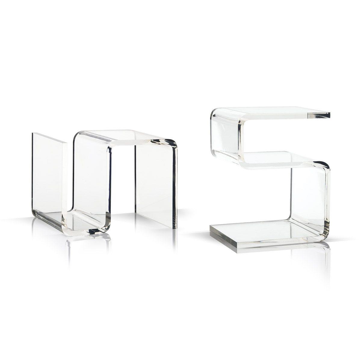 Bretz Beistelltisch Acrylglas B146T